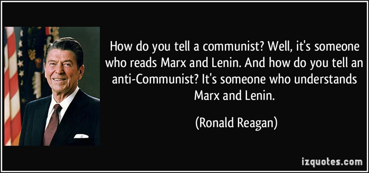 1 How Do you tell a communist